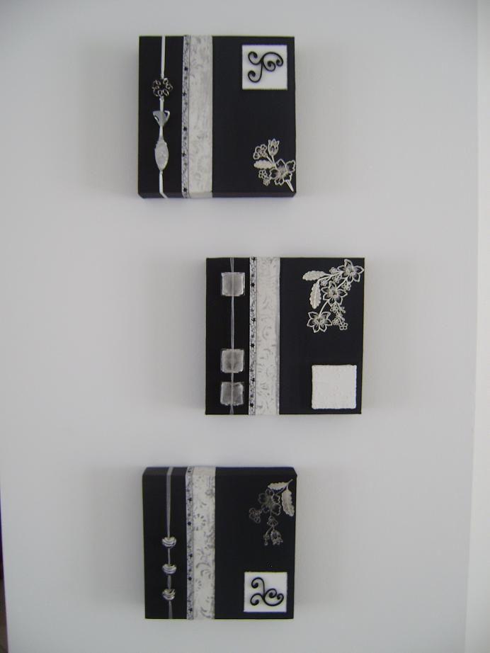 Chassis Home Deco Noir Et Blanc